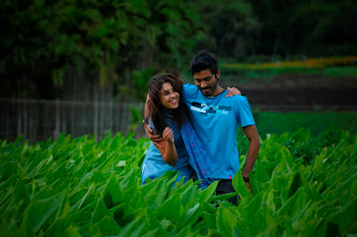 Dhanush and Richa in Mayakkam Enna Stills