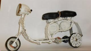 Lambretta Miniatura - Presente Criativo