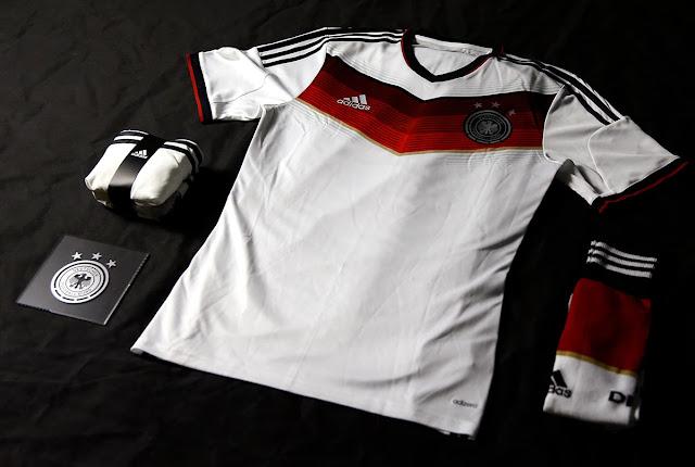 Kit Jersey - Socks Germany 2014 FIFA World Cup Home Football Socks