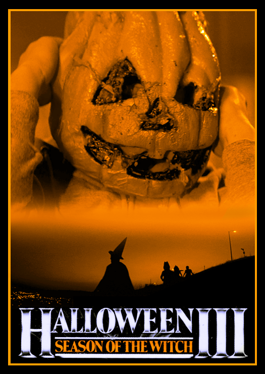 The Horrors of Halloween: Orange and Black HALLOWEEN Posters