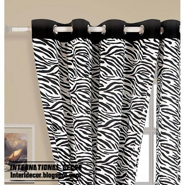 For zebra print wall also typical, as posters or pictures and zebra . ...