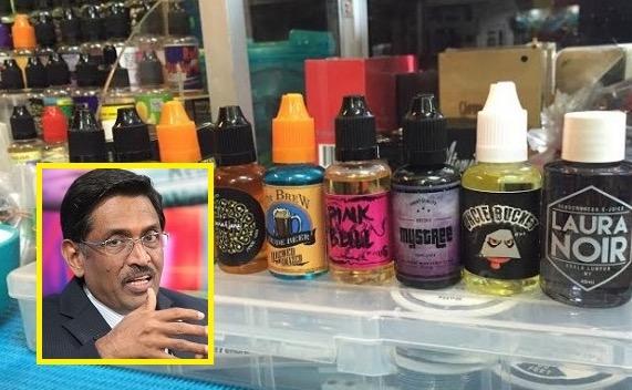 KKM Akan Rampas Liquid Vape Mengandungi Nikotin Tanpa Lesen Bawah Akta Racun
