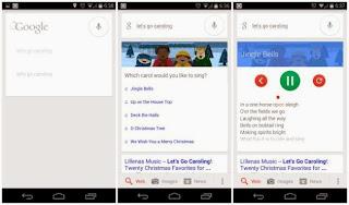 """Un """"Huevo de Pascua"""" en la busqueda de Google convierte tu android en un karaoke navideño"""