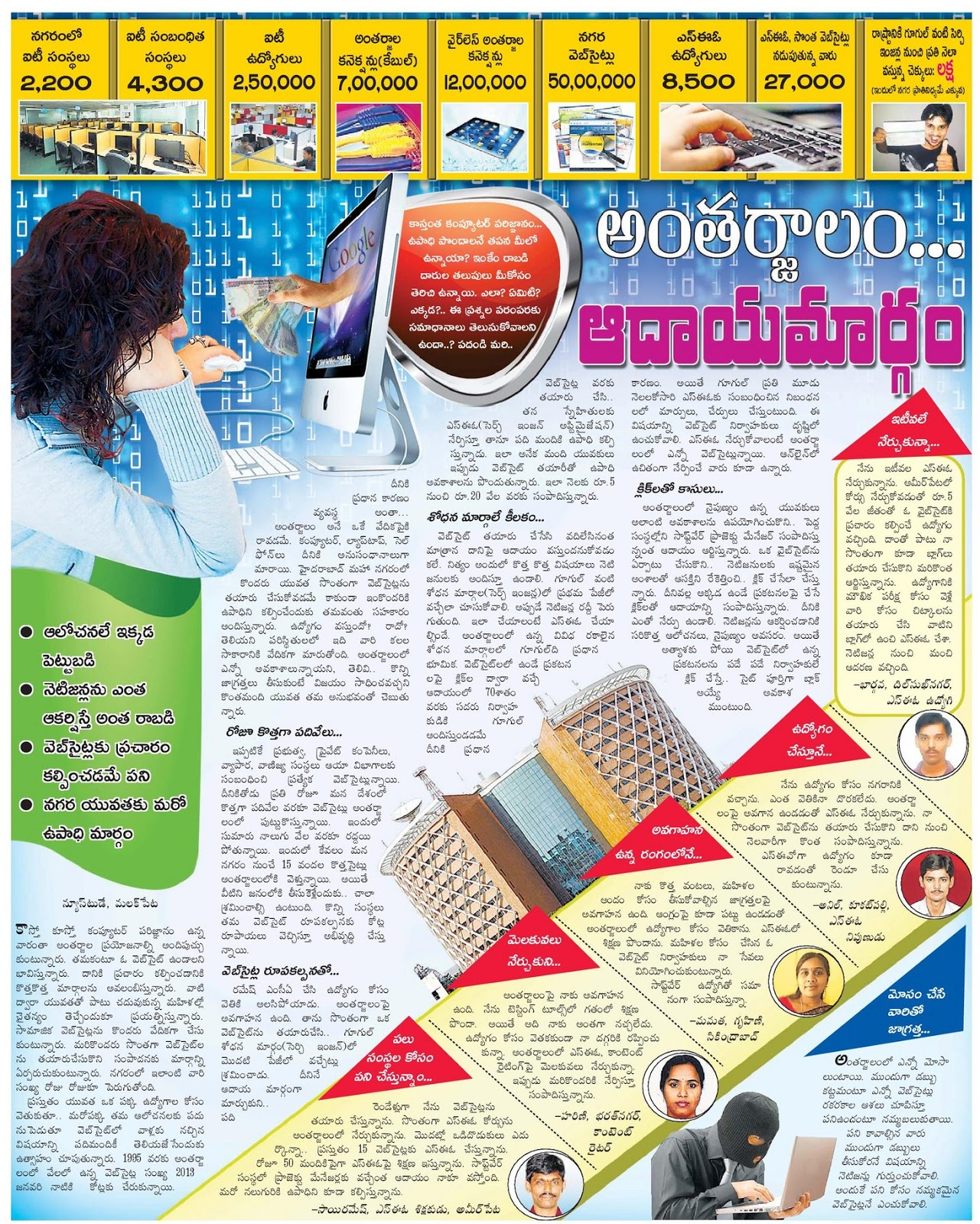 Seo freelancer in hyderabad eenadu article earn money from internet eenadu article earn money from internet ccuart Gallery