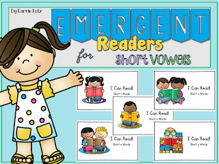 https://www.teacherspayteachers.com/Product/Emergent-Readers-for-Short-Vowel-Practice-2064413