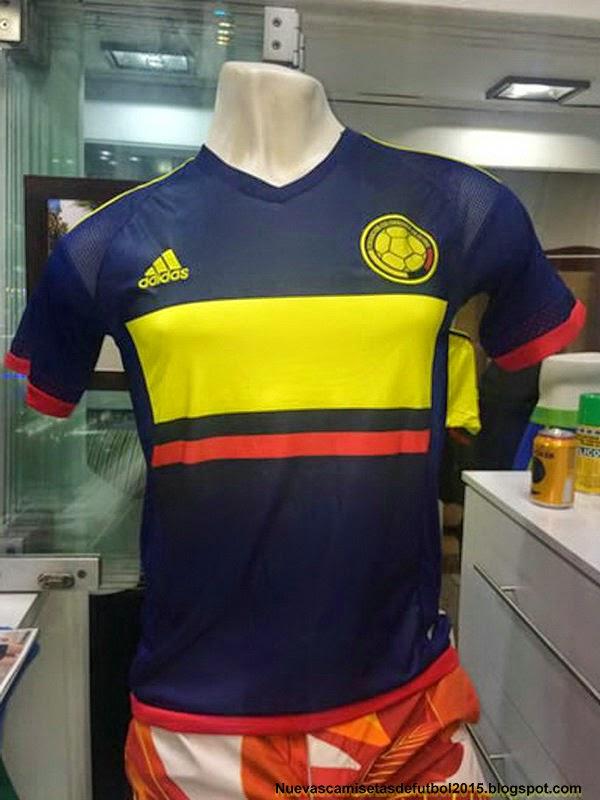 Camiseta Adidas Seleccion Colombia 2015 Camiseta Colombia 2015 2016