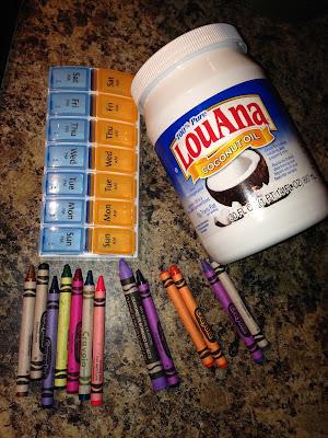 DIY Crayon lipstick- things needed