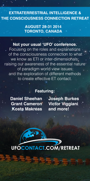 Extraterrestrial Intelligence & The Consciousness Connection Retreat