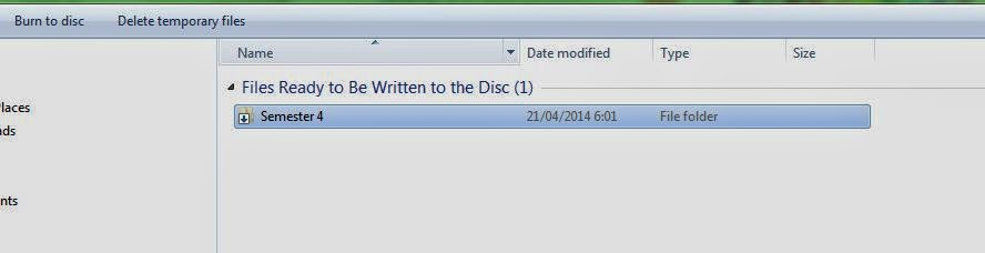 Cara Burning CD/DVD langsung dari windows (tanpa Nero)