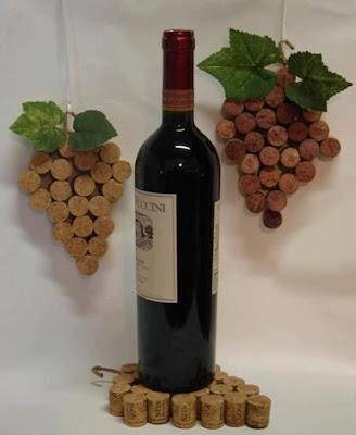 reciclagem -  rolha de vinho