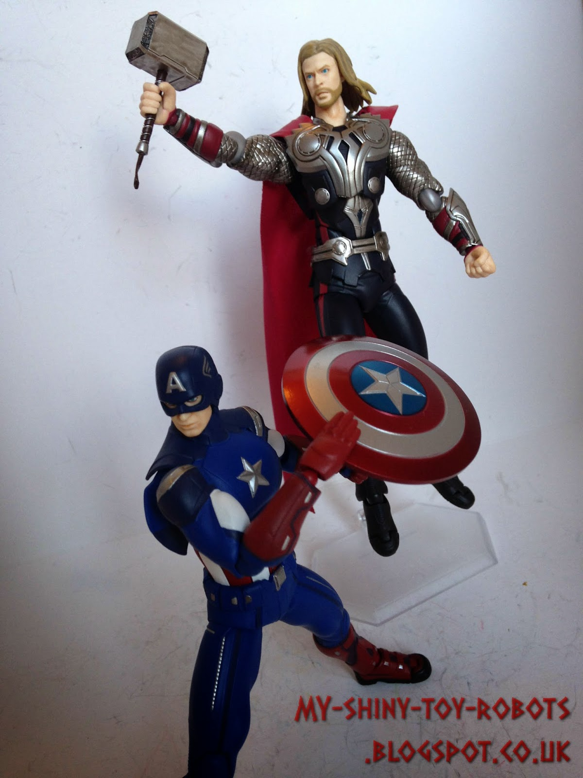 Cap and Thor team up