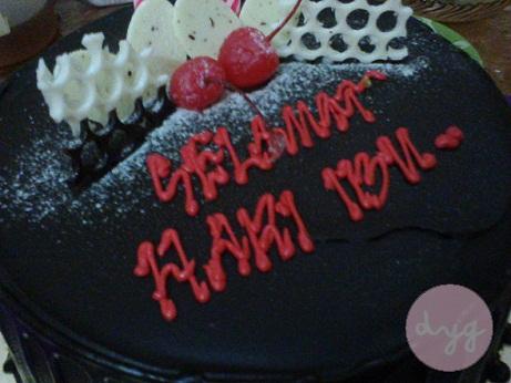 Bersantai... Kek Coklat!