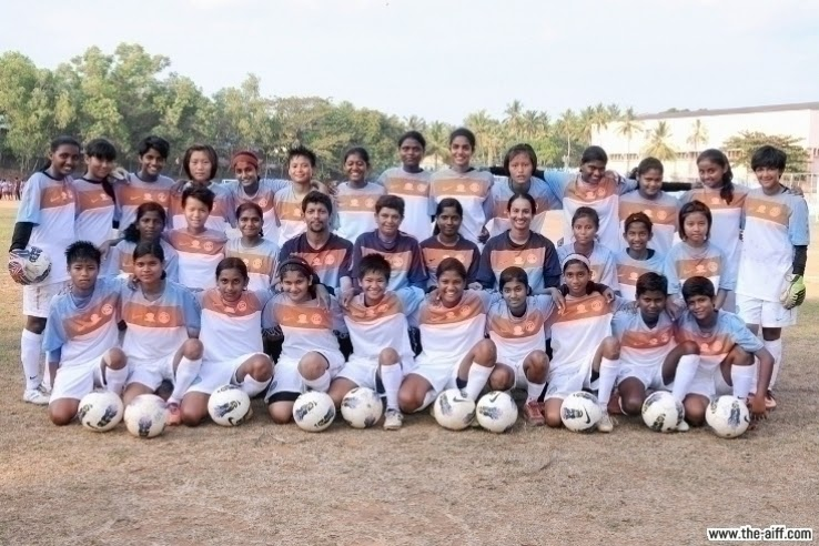 India finish runners up in AFC Girls Regional Championship