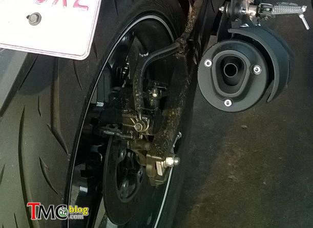 Calon Yamaha MT-15 Silincer Knalpotnya Panjang - Efek Takut Kutukankah?