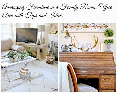 Family room makeover and  rearranging at One More Time Events.com