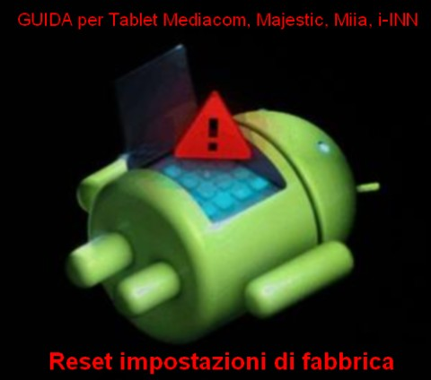 Android with Red Triangle