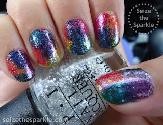 Rainbow Glitter Sandwich