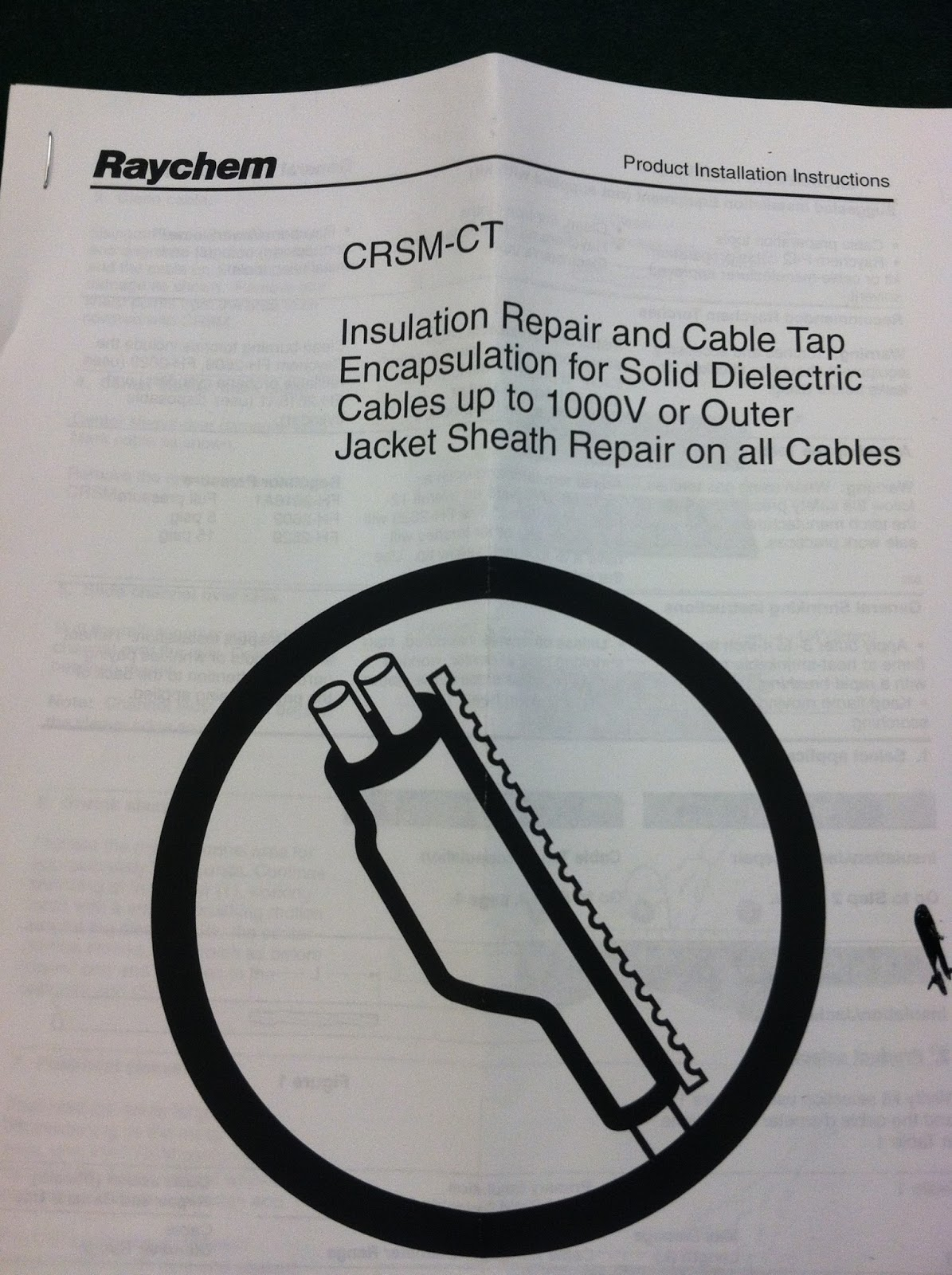 Raychem Heat Shrink: What is Included in a CRSM-CT Kit?
