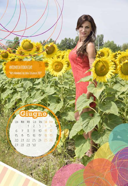 Calendario 2016 - Miss Mamma Italiana - Giugno