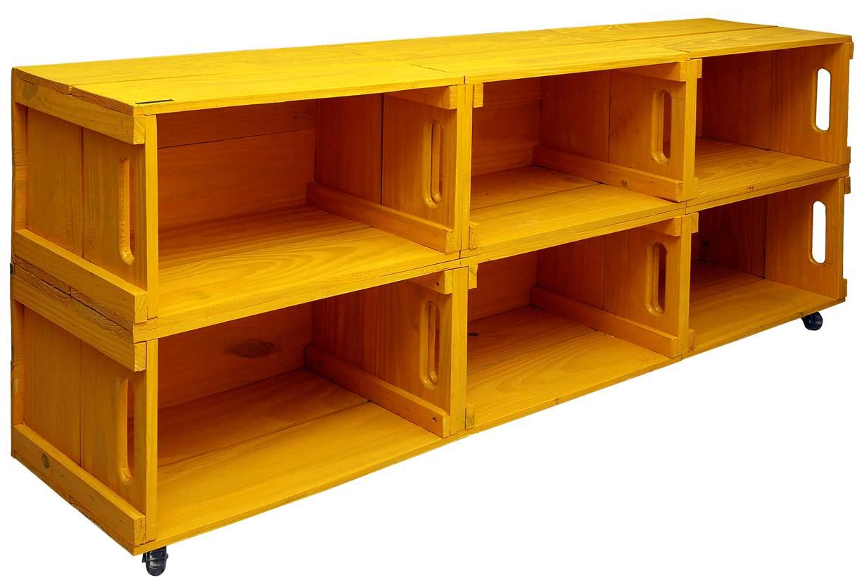 Decoração: Modelos de móveis confeccionados com caixotes de feira #AF5001 1218x821
