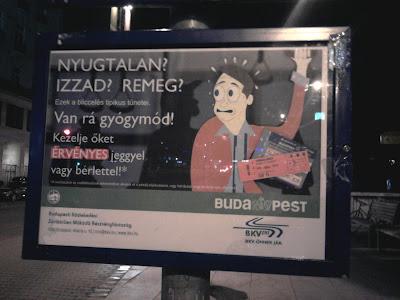 Geszti Péter, BKV, reklám