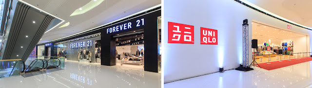 Forever 21 and Uniqlo
