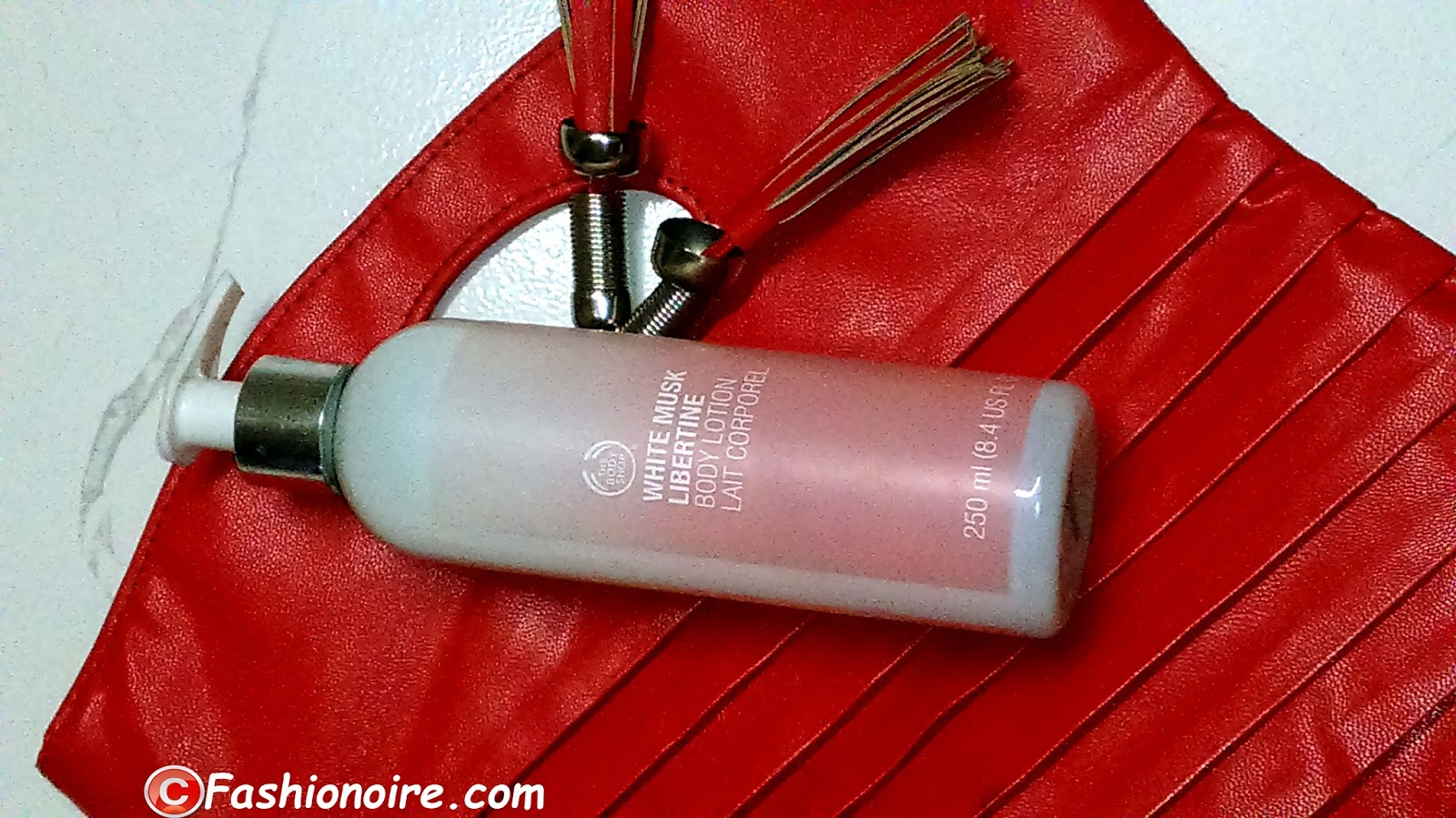 The Body Shop White Musk Libertine Body Lotion Review