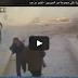 سقوط قنبلة مباشرة على مجموعة من السوريين - فيديو مرعب