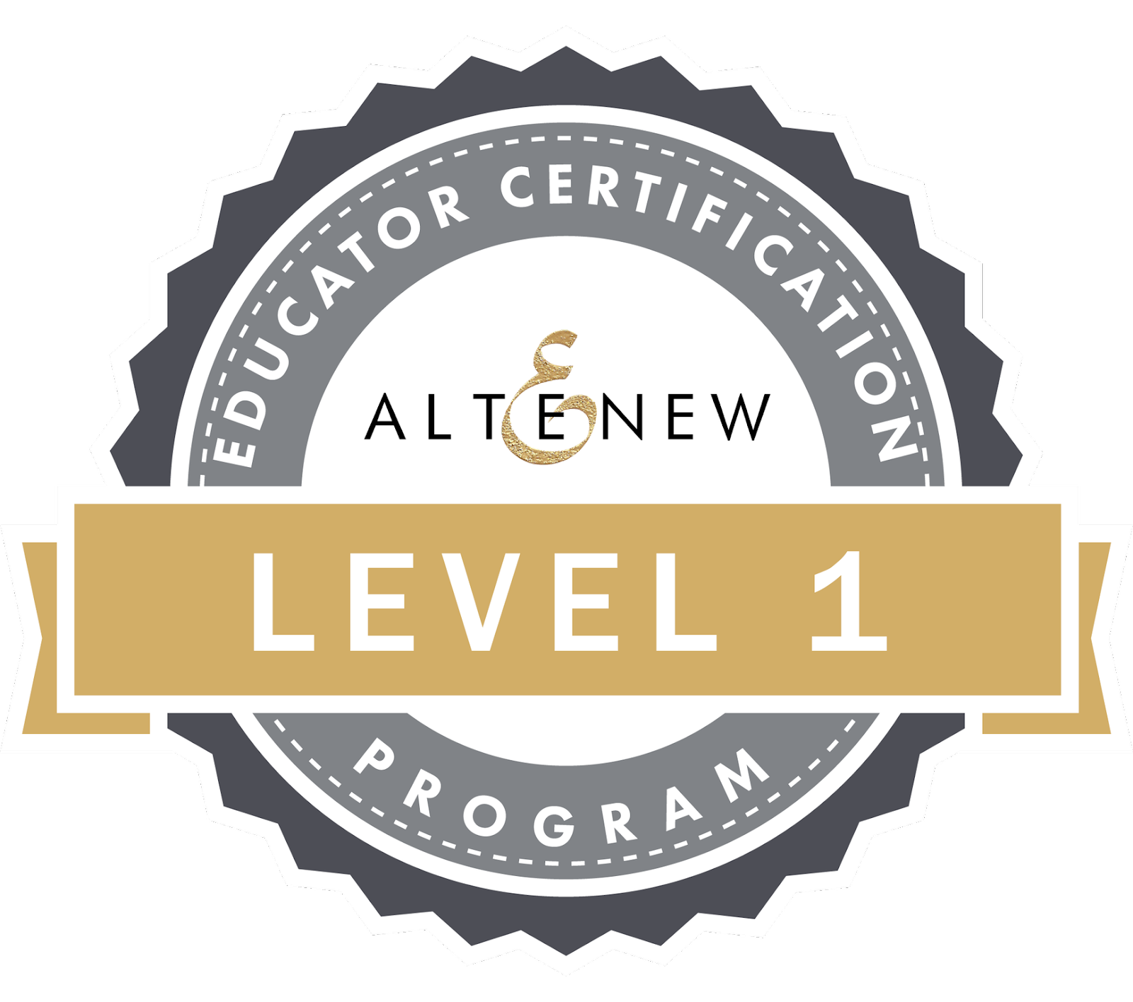 Altenew Educator Certification Program Level 1