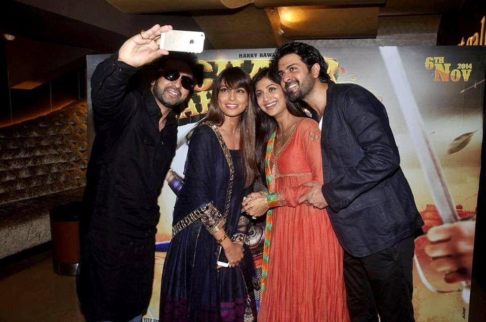 Bipasha & Shilpa Shetty 'Chaar Sahibzaade' Trailer Launch by Harry Baweja