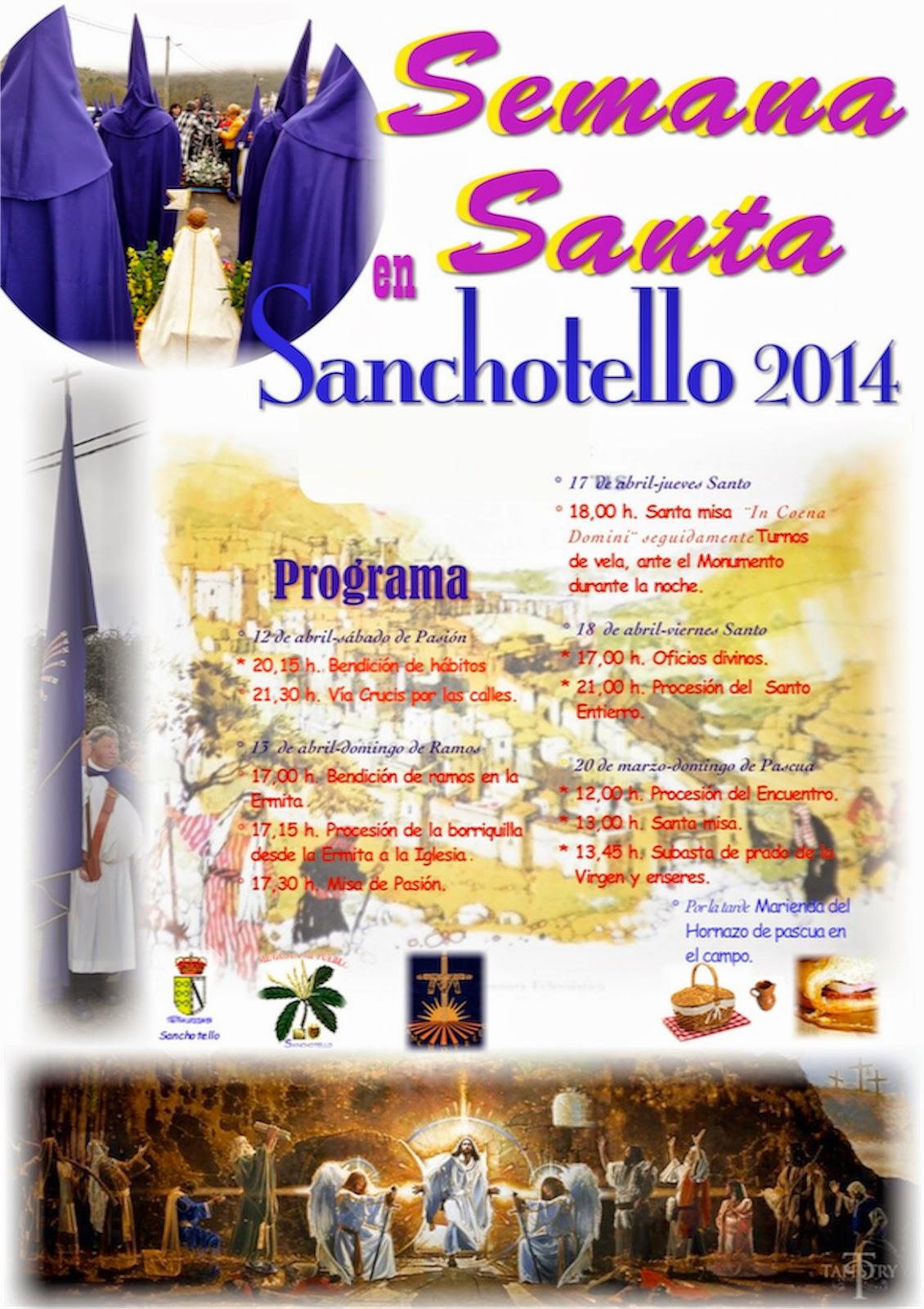 12-20/Abril: Semana Santa. Sanchotello