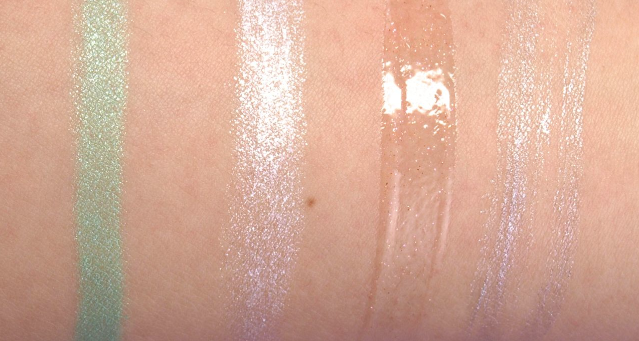 Yves Rocher Holiday 2014 Shimmery Makeup Collection: Review and Swatches