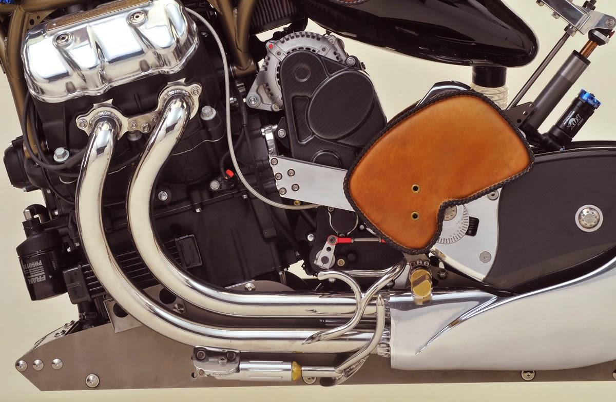 Motus V4 motorcycle engine - Supercharger Optional