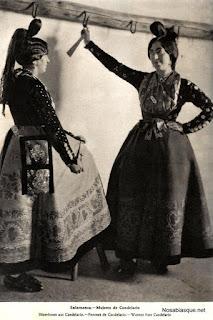 Mujeres de Candelario Salamanca Candelarias de ortiz echague