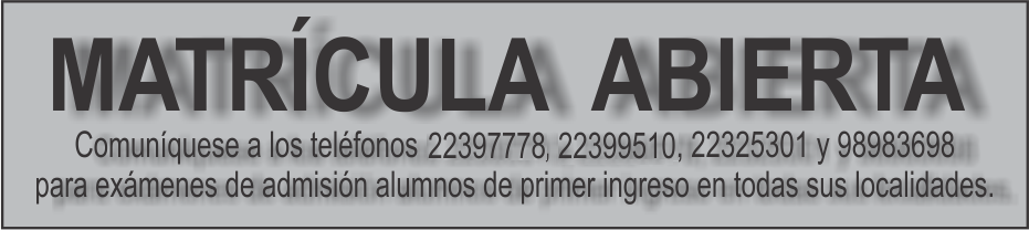 ROTULO MATRICULA