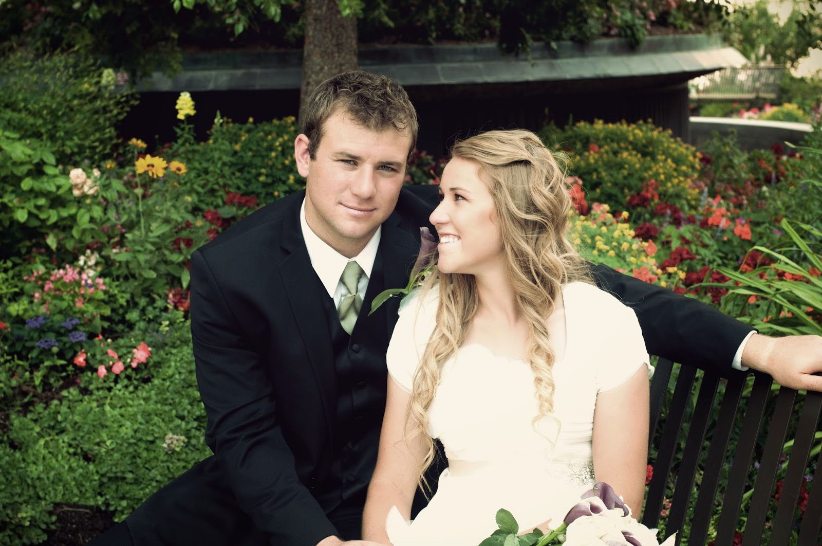 Mitch and megan wedding