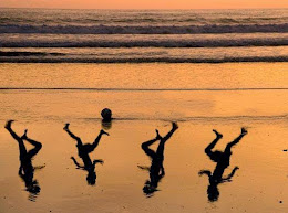 Playing in the Waves-Gaza, July 16, 2014