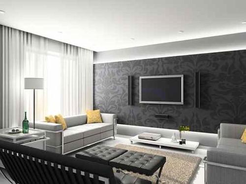 Arredare Soggiorno Con Carta Da Parati : Luxury goes living carta da parati new trend