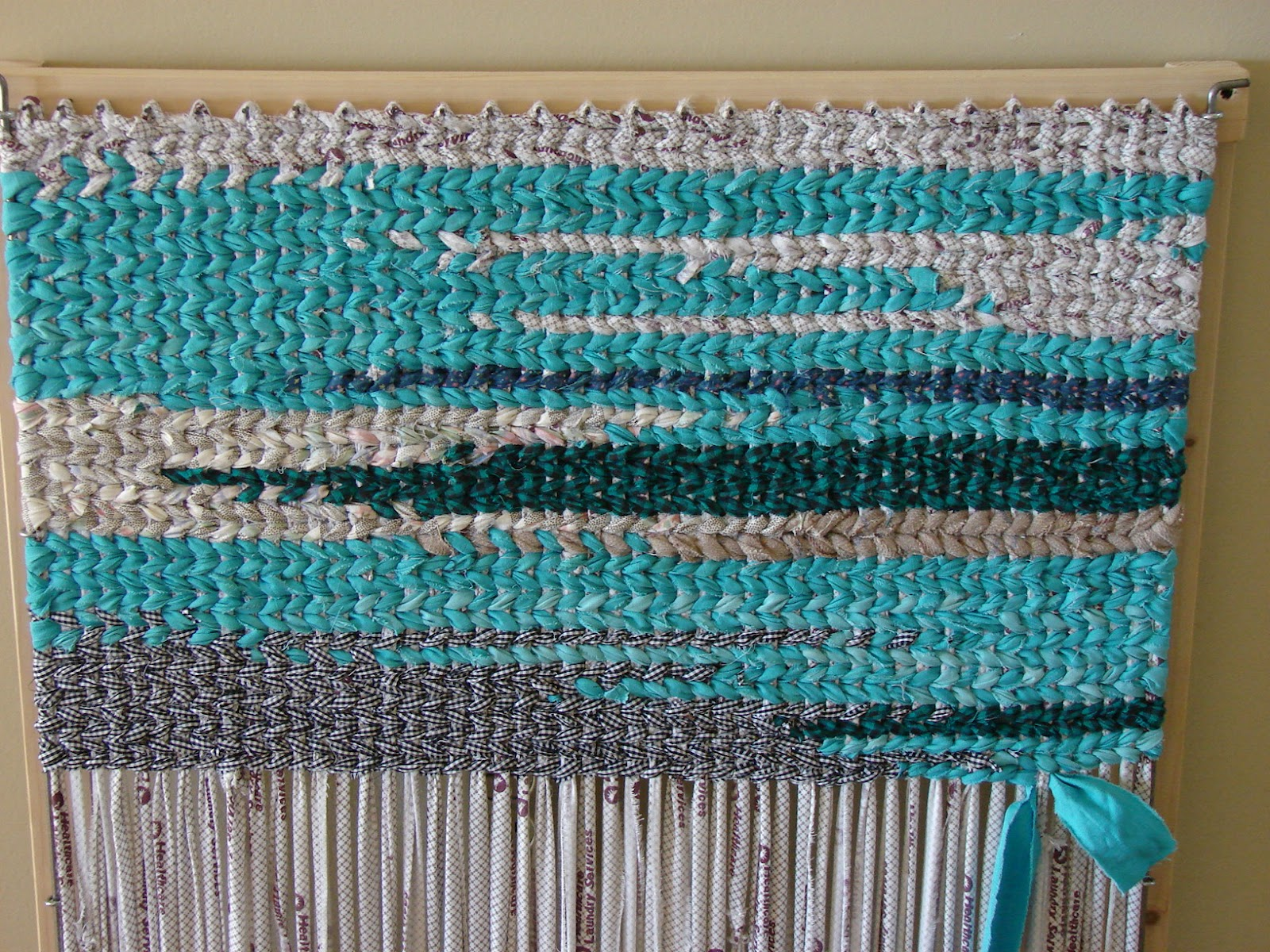 Weaving Rag Rugs On A Loom Rugs Ideas