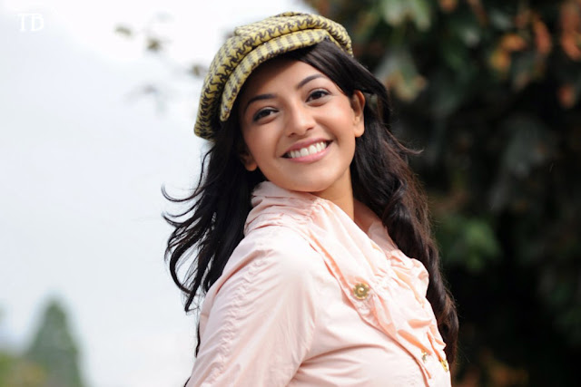 Kajal Agarwal Wearing Cap In Hd