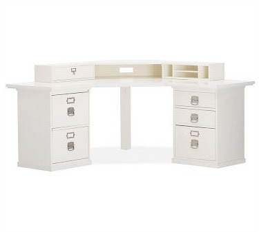 Home Office: Bedford Smart Technology, Corner Desk Hutch
