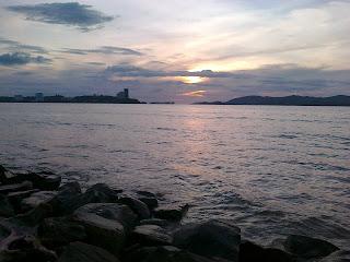 Sekadar gambar hiasan. Pemandangan dari Anjung Rasa, Tanjung Lipat