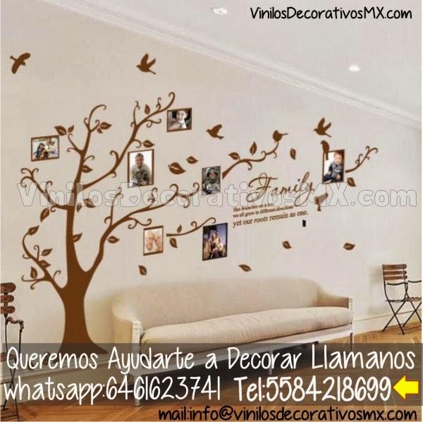 Ideas de decoracion de salas de estar vinilos for Adornos decorativos para sala