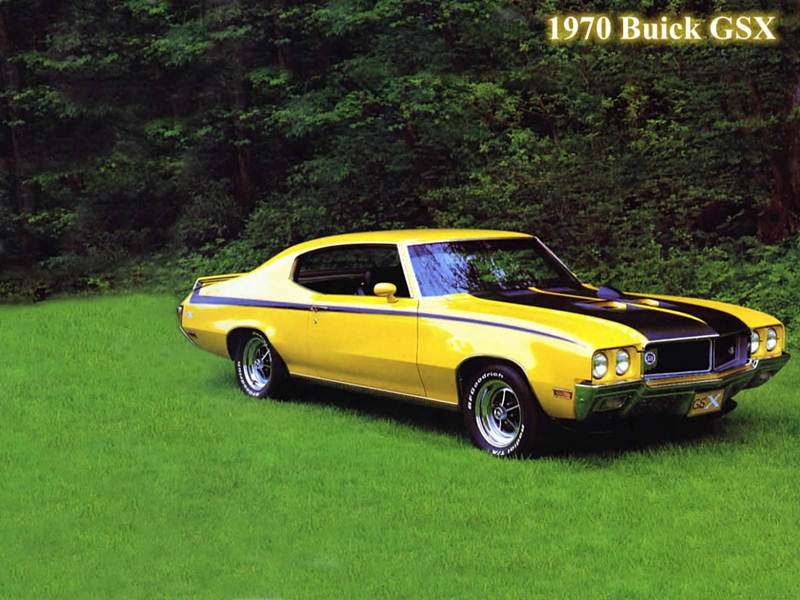 1970 buick gs muscle classic cars muscle cars never die for Classic american muscle cars