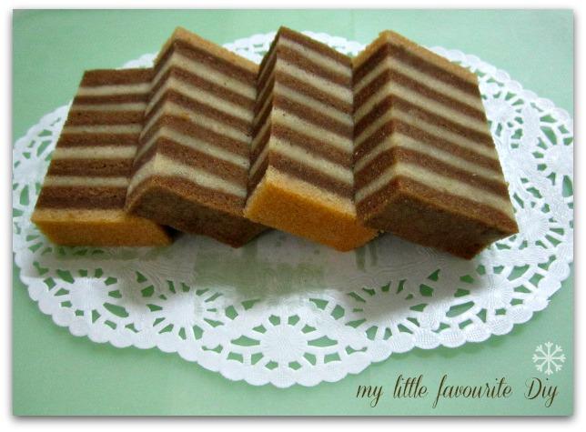 Steam Horlick Layer Cake Recipe