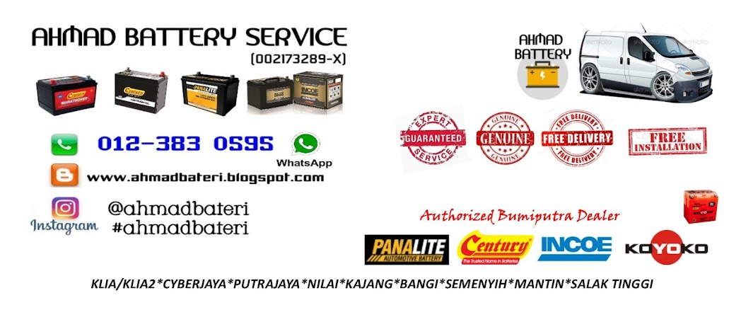 Ahmad Battery Service ,Battery Delivery