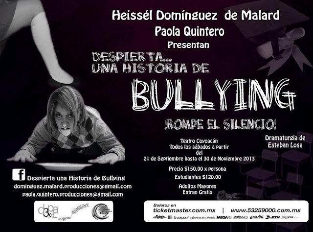 """Nueva temporada de """"Despierta... Una historia de Bullying"""" en el Teatro Coyoacán"""