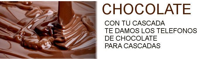 CHOCOLATE PARA CASCADA