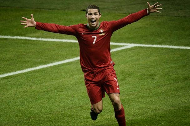 Cristiano Ronaldo still lost than Luis Figo