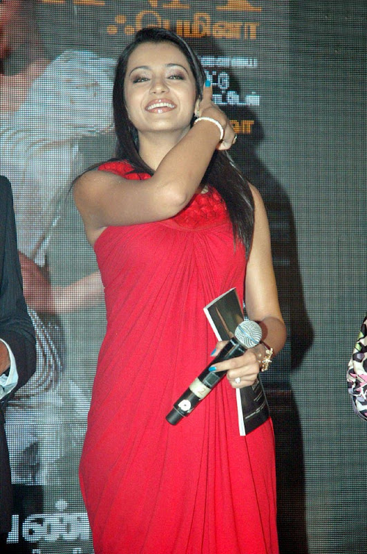 Trisha Latest Hot Photos in Red Dress gallery pictures
